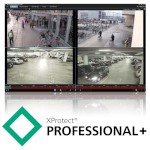 Milestone XProtect Professional+ video management software, base licence, unlimited IP cameras