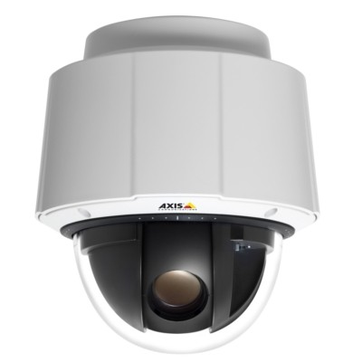 Axis Q6034 indoor, HD 720p, pan/tilt/zoom IP camera with 18x optical zoom, day/night function, H.264, HPoE