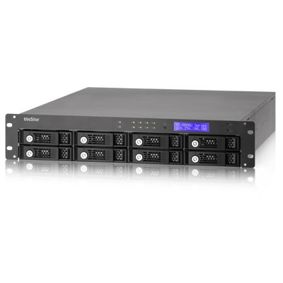 QNAP Viostor VS-8040U-RP Network Video Recorder with 40 channels and up to 16TB storage, rack mount