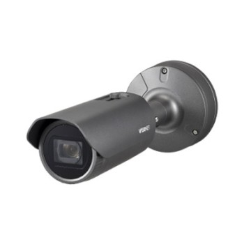 Wisenet XNO-6120R outdoor bullet IP camera with 2MP resolution, varifocal lens, up to 70m IR and PoE