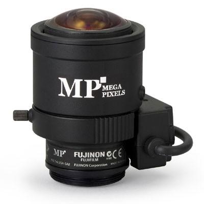 "Fujinon YV2.7X2.2SA-SA2 1/3"" 3 Megapixel, 2.2-6mm varifocal, DC-iris, CS mount lens"