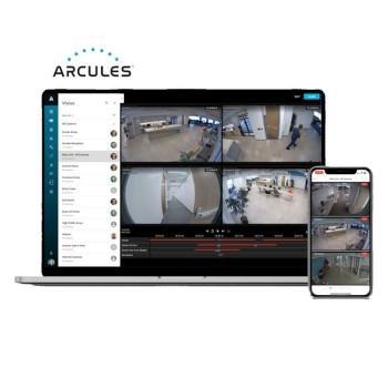 Arcules Cloud CCTV subscription - HD 720p with 3 days retention, quarterly charge per camera