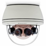 Arecont Vision SurroundVideo AV40185DN outdoor dome IP camera with 40 megapixel at 1.5 fps, 180° view and true day/night