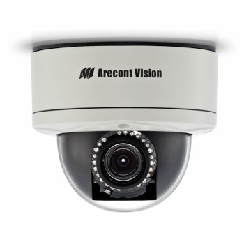 Arecont Vision MegaDome2 AV10255 outdoor vandal-resistant IP dome camera with 10 megapixel at 7 fps and IR night vision