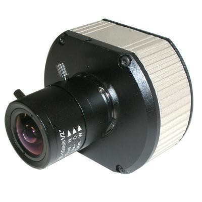 Arecont Vision AV5115DN 5 megapixel  at 14fps compact IP camera with day/night function, varifocal lens, H.264 and PoE