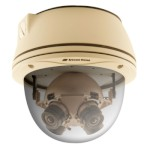Arecont Vision AV8365DN Outdoor 8 megapixel IP camera with 360 degree panoramic view, vandal resistant, day/night and PoE