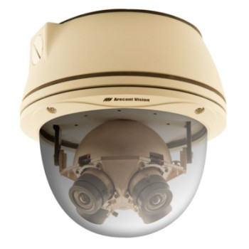 Arecont Vision AV20365DN Outdoor 20 megapixel 360 degree panoramic IP camera with vandal resistant housing, day/night, PoE