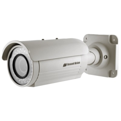 Arecont Vision AV1125IR Outdoor 1.3 megapixel at 42 fps IP security camera with 25m infrared night-vision, H.264 and PoE