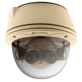Arecont Vision AV8185DN Outdoor 8 megapixel IP camera with 180 degree panoramic view, vandal resistant, day/night and PoE