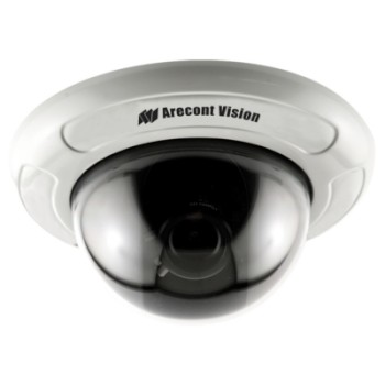 Arecont Vision D4F-AV1115DN Indoor 1.3 megapixel at 42fps IP camera in-ceiling mount, day/night, varifocal, H.264 and PoE