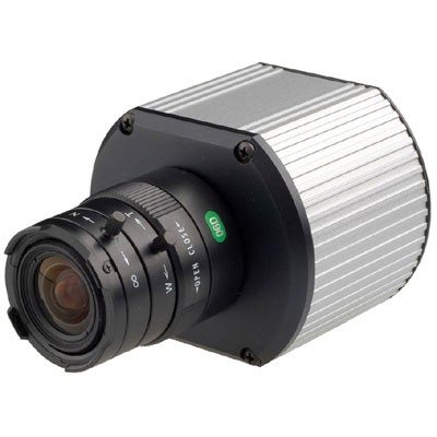 Arecont AV5100DN 5 Megapixel IP camera with day/night mode, PoE, motion detection and digital PTZ