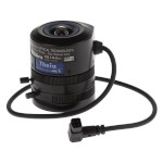 Axis 5503-161 varifocal 1.8 - 3.0mm ultra wide lens, IR-corrected with CS-mount and DC-iris