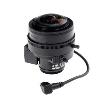 Axis 5800-781 varifocal 2.2 - 6mm wide angle lens, IR-corrected with CS-mount and DC-iris