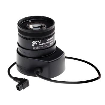 Axis 5800-791 varifocal 12.5 - 50mm telephoto lens, IR-corrected with CS-mount and DC-iris