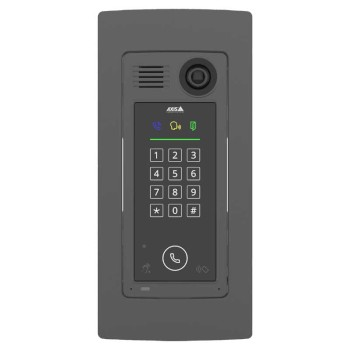 Axis A8207-VE Mk II outdoor network door station, 6MP, two-way audio, RFID reader & keypad for access control & HDMI output