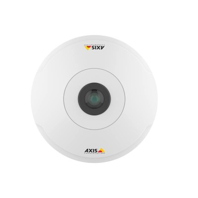 Axis Companion 360 indoor 360° panoramic IP camera with 6MP resolution, HDMI output, edge storage and PoE