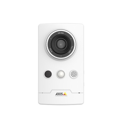 Axis Companion Cube L indoor IP camera with HD 1080P, built-in microphone and speaker, PIR sensor, 10m IR and PoE