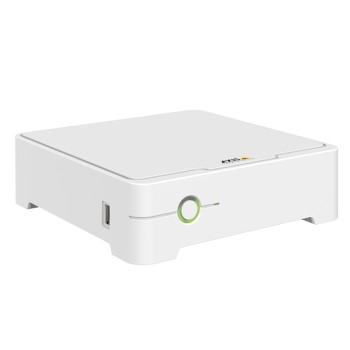 Axis Companion Recorder, 4 channel network video recorder with PoE switch and 1TB storage