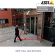 Image of Axis Cross Line Detection (virtual tripwire) application licence provided by www.networkwebcams.co.uk