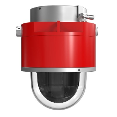 Axis D101-A XF P3807 ATEX-Certified IP camera with four HD 1080p sensors, 180° overview, Lightfinder and Forensic WDR
