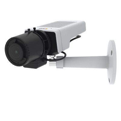 Axis M1137 indoor 5MP IP camera with varifocal CS mount lens, built-in microphone, Lightfinder technology and PoE