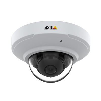 Axis M3075-V indoor, vandal resistant mini-dome with HD 1080p, built-in microphone, HDMI output and Zipstream technology