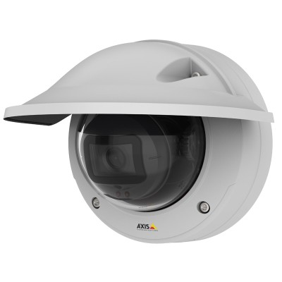 Axis M3205-LVE vandal-resistant outdoor dome IP camera with HD 1080p, 20m OptimisedIR, HDMI output, edge storage & PoE