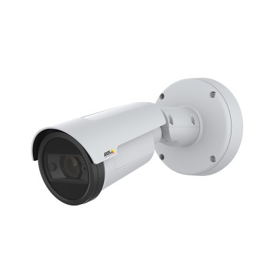 Axis P1445-LE outdoor IP camera with 2MP resolution, up to 40m OptimisedIR, Forensic WDR, Lightfinder and PoE
