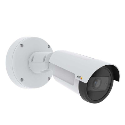 Axis P1455-LE outdoor bullet IP camera with HD 1080p, up to 40m IR, Lightfinder 2.0, object analytics & PoE