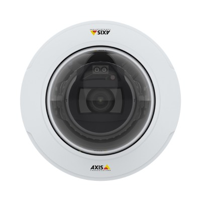 Axis P3245-LV indoor vandal-resistant IP camera with HD 1080p, up to 40m OptimisedIR, Lightfinder 2.0, Forensic WDR & PoE