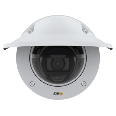 Axis P3245-LVE outdoor vandal-resistant IP camera with HD 1080p, up to 40m OptimisedIR, Lightfinder 2.0 and Forensic WDR