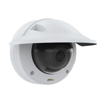 Axis P3245-VE outdoor, vandal-resistant dome IP camera with HD 1080p, varifocal lens, Lightfinder 2.0, Forensic WDR & PoE
