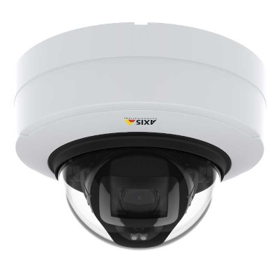 Axis P3248-LV indoor vandal-resistant dome IP camera with 4K UHD, up to 40m OptimisedIR, Lightfinder 2.0 & Forensic WDR