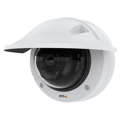 Axis P3255-LVE vandal-resistant outdoor dome IP camera with HD 1080p, dual chipset, up to 40m OptimisedIR & Lightfinder 2.0