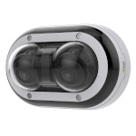 Axis P3715-PLVE outdoor vandal-resistant IP camera with two 2MP sensors, 360° IR, Forensic WDR technology & PoE