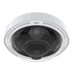 Axis P3717-PLE outdoor IP camera with four HD 1080p sensors, 360° views, Lightfinder, Forensic WDR and PoE+