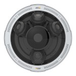 Axis P3719-PLE outdoor 15MP IP camera with four Quad HD sensors, 360° IR illumination, edge storage & PoE+