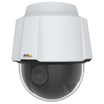 Axis P5655-E outdoor-ready PTZ with HD 1080p, 360° endless pan, 32x optical zoom, Lightfinder 2.0, Forensic WDR and PoE+