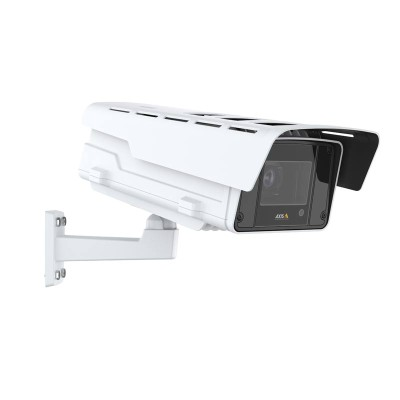 Axis Q1647-LE outdoor IP camera with 5MP resolution, i-CS lens, up to 30m Optimised IR, Forensic WDR, Lightfinder and PoE+