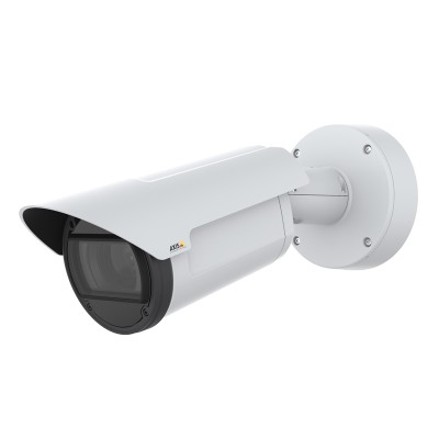 Axis Q1786-LE outdoor-ready IP camera with 4MP resolution, up to 80m Optimised IR, 32x optical zoom, Lightfinder and PoE