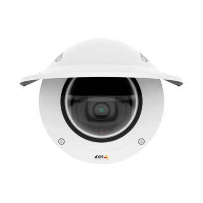 Axis Q3527-LVE outdoor dome IP camera with 5MP resolution, up to 40m OptimisedIR, Lightfinder, Forensic WDR and PoE
