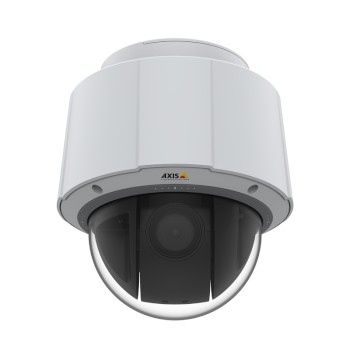 Axis Q6074-E outdoor-ready PTZ with HD 720p resolution, 360° pan, 30x optical zoom, Lightfinder 2.0, autotracking 2 and PoE