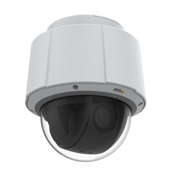 Axis Q6075 indoor PTZ dome with HD 1080p resolution, endless 360° pan, 40x optical zoom, Lightfinder 2.0, Zipstream & PoE+