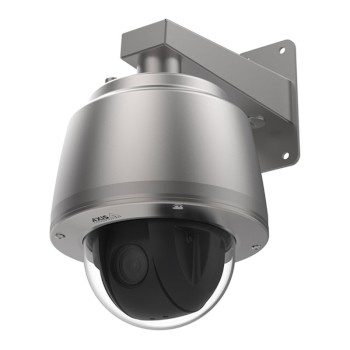 Axis Q6075-S outdoor stainless steel PTZ IP camera with HD 1080p, 40x optical zoom, endless 360° pan and Lightfinder 2.0