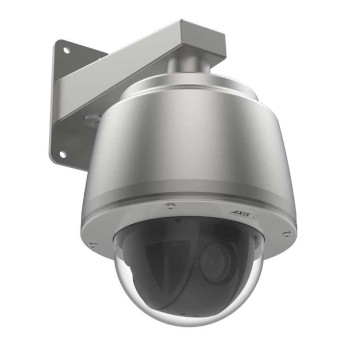 Axis Q6075-SE outdoor stainless steel PTZ IP camera with HD 1080p, endless 360° pan, 40x optical zoom & Lightfinder 2.0