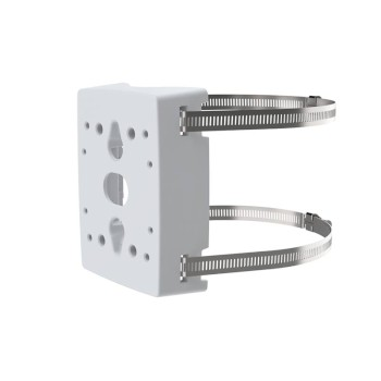 Axis T91B47 pole mount bracket for use with Axis bullet and dome IP cameras