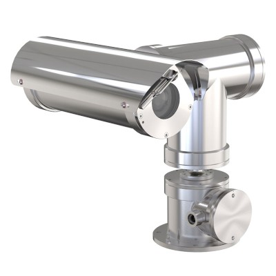 Axis XP40-Q1765 ATEX-Certified PTZ IP camera with HD 1080p, 360° pan, 90° tilt and 18x optical zoom
