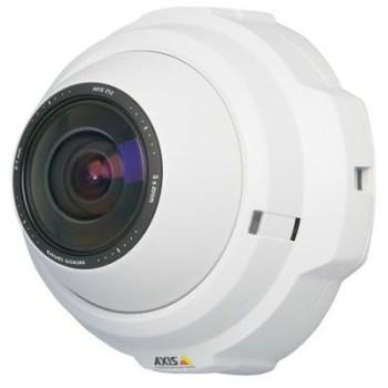 Axis 212 indoor, 3 megapixel, fixed dome IP surveillance camera with digital pan-tilt-zoom, anti-tamper casing, PoE