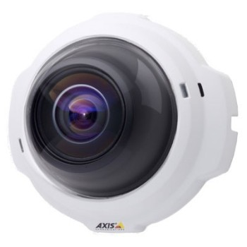 Axis 212-V indoor, 3 megapixel, fixed dome IP camera with vandal-resistant casing, digital pan/tilt/zoom, PoE