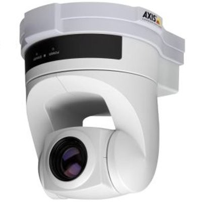 Axis 214 indoor, pan/tilt/zoom IP security camera with 18x optical zoom, day/night function, built-in motion detection